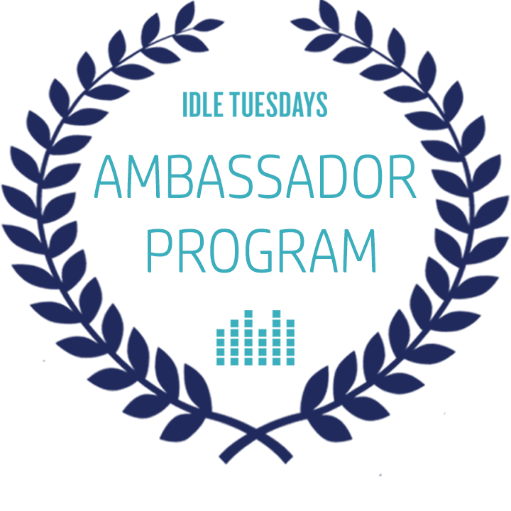 idle_tuesdays_ambassador_program_logo